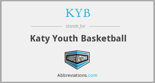 What does KYB stand for?