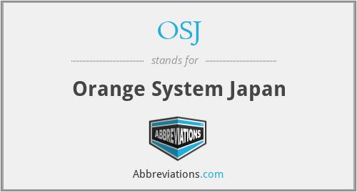 OSJ - Orange System Japan