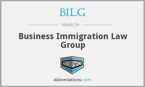 What does BILG stand for?