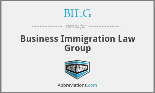 BILG - Business Immigration Law Group