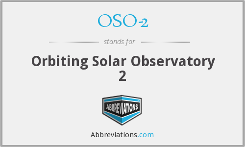OSO-2 - Orbiting Solar Observatory 2