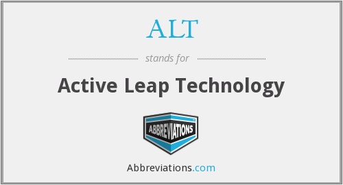 ALT - Active Leap Technology