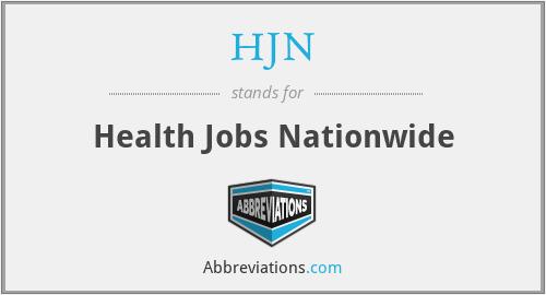 HJN - Health Jobs Nationwide