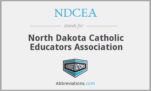 What does NDCEA stand for?