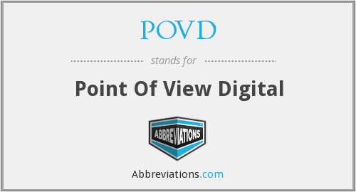 What does POVD stand for?