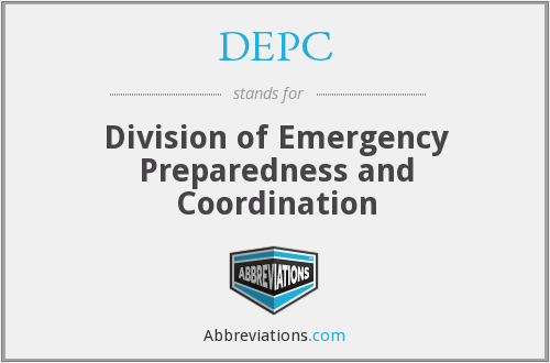 What does DEPC stand for?