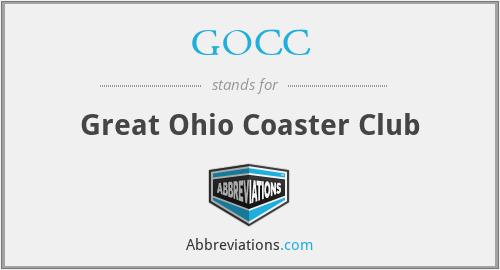 GOCC - Great Ohio Coaster Club