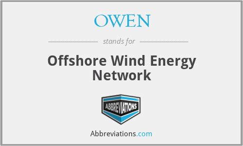 OWEN - Offshore Wind Energy Network