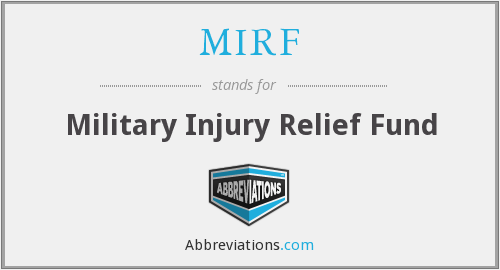 What does MIRF stand for?