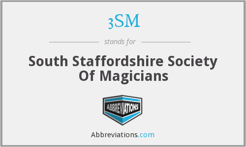 3SM - South Staffordshire Society Of Magicians