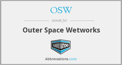 OSW - Outer Space Wetworks