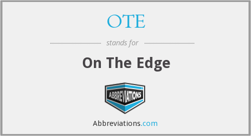 OTE - On The Edge
