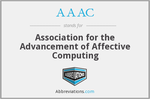 AAAC - Association for the Advancement of Affective Computing
