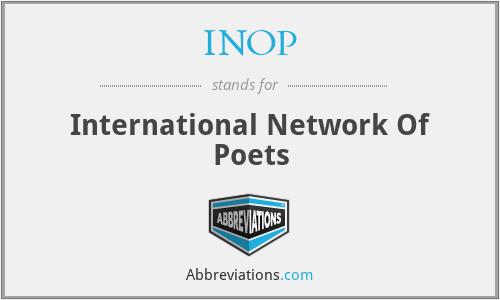 INOP - International Network Of Poets