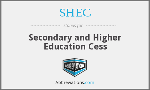 What does SHEC stand for?