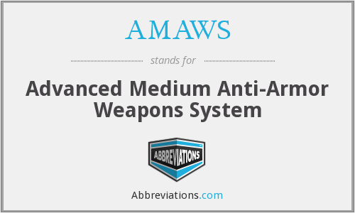 What does AMAWS stand for?