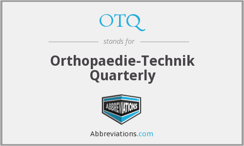 What does OTQ stand for?