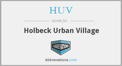 HUV - Holbeck Urban Village