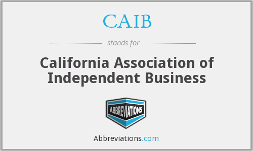 What does CAIB stand for?