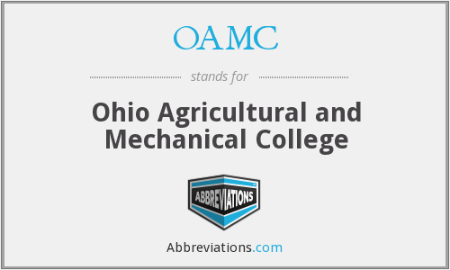 What does OAMC stand for?