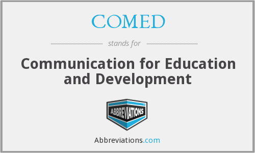 COMED - Communication for Education and Development