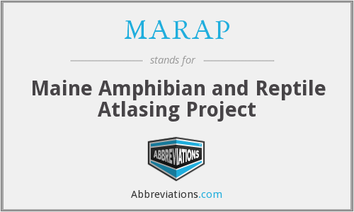 What does MARAP stand for?