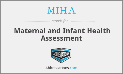 What does MIHA stand for?