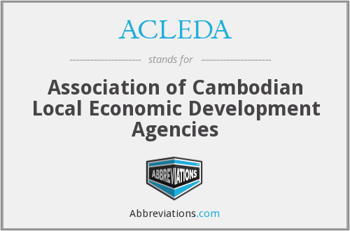 What does ACLEDA stand for?