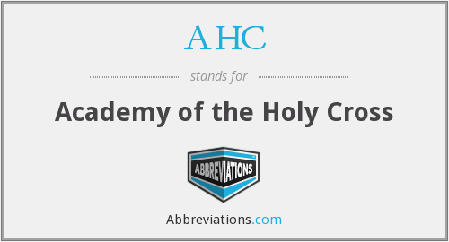 AHC - Academy of the Holy Cross