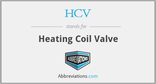 HCV - Heating Coil Valve