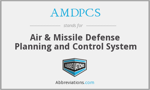 AMDPCS - Air & Missile Defense Planning and Control System