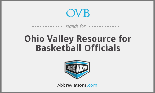 OVB - Ohio Valley Resource for Basketball Officials