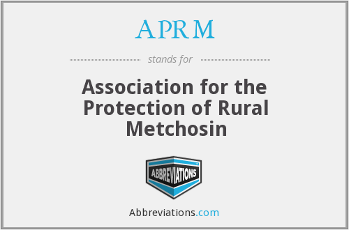 APRM - Association for the Protection of Rural Metchosin