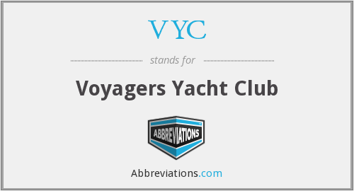 VYC - Voyagers Yacht Club