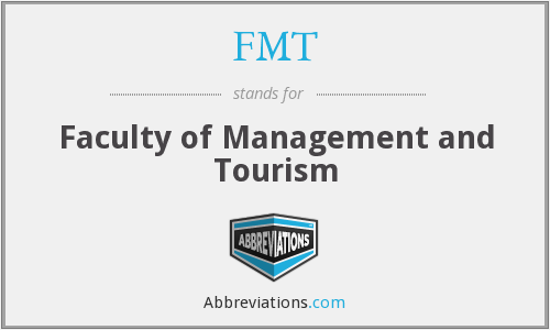 FMT - Faculty of Management and Tourism