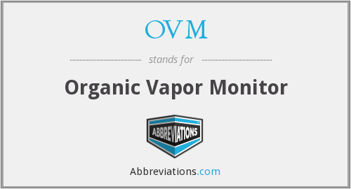 What does OVM stand for?