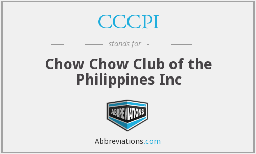 CCCPI - Chow Chow Club of the Philippines Inc
