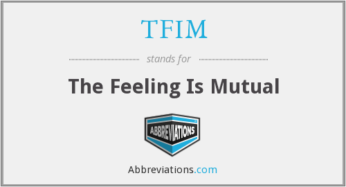 What does TFIM stand for?