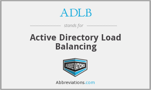 What does ADLB stand for?