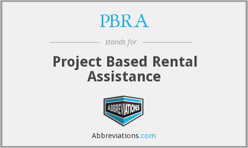 What does PBRA stand for?