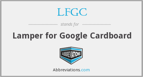 What does LFGC stand for?
