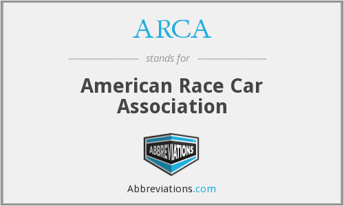 ARCA - American Race Car Association