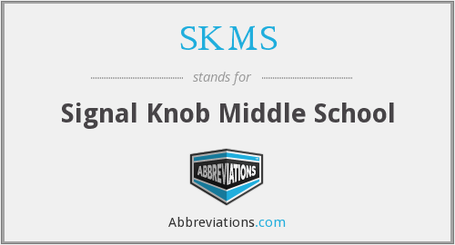What does SKMS stand for?