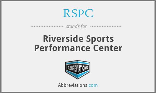 RSPC - Riverside Sports Performance Center