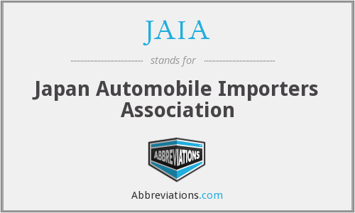 What does JAIA stand for?