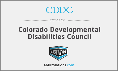 What does CDDC stand for?