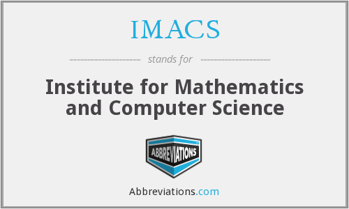 What does IMACS stand for?
