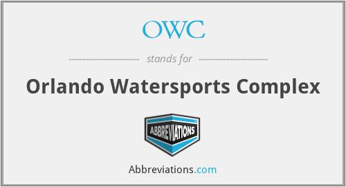 OWC - Orlando Watersports Complex