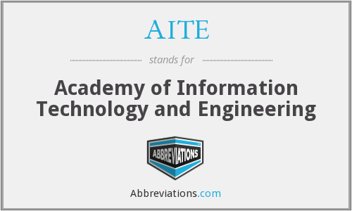 What does AITE stand for?