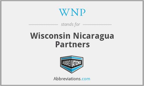 WNP - Wisconsin Nicaragua Partners